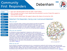 Tablet Preview of debenham.first.responders.org.uk